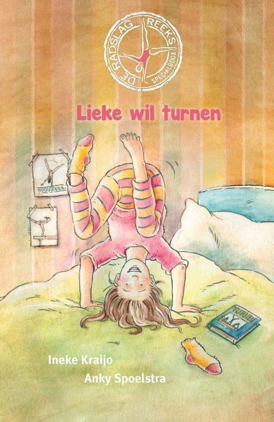 Boek cover Lieke wil turnen van Ineke Kraijo (Hardcover)