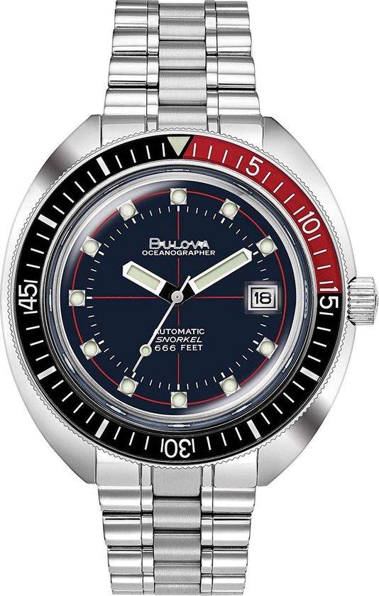 Bulova Devil Diver 98B320 Horloge - Staal - Zilverkleurig - Ø 41 mm