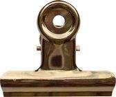 LPC Papierklem Bulldog clip goud - 51 mm -20 stuks