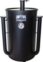 Gateway Drum Smoker 55 Gallon No Plate matte Black