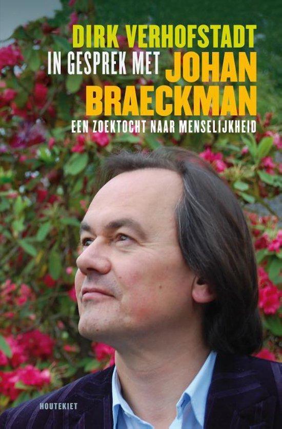 Cover van het boek 'In gesprek met Johan Braeckman'