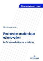 Recherche Academique Et Innovation