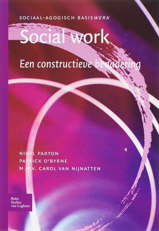 Sociaal agogisch basiswerk - Social work - N. Parton |