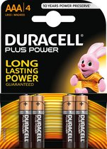 Duracell Plus Power 4xAAA