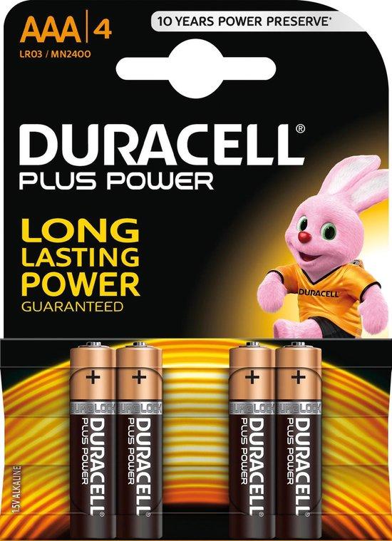 Duracell Plus Power 4xAAA