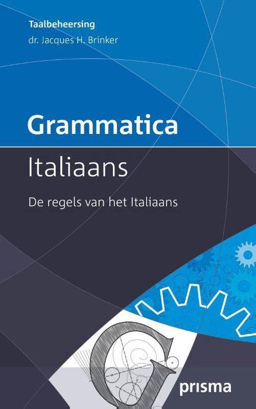 Grammatica Italiaans - Jacques H Brinker |