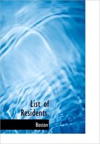 List of Residents.