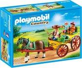 PLAYMOBIL Country Paard en kar  - 6932