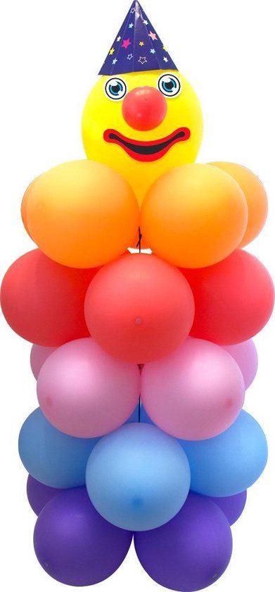 Ballon Set Clown