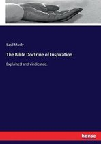 Boek cover The Bible Doctrine of Inspiration van Basil Manly