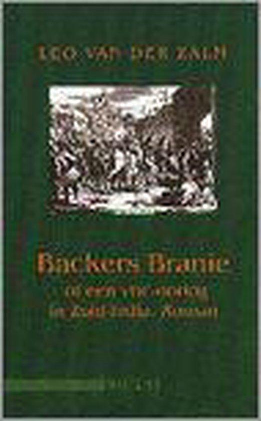 BACKERS BRANIE OF EEN VOC-OORLOG ZUID-INDIA - Leo van der Zalm |