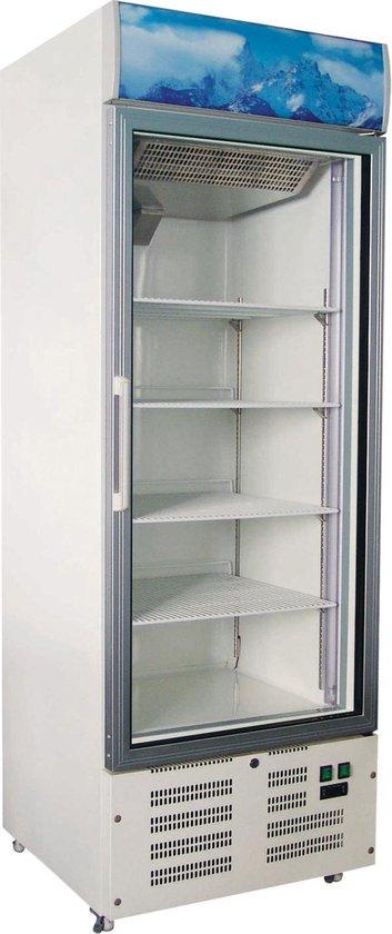 Koelkast: Horeca Vrieskast 1 Glasdeur  412 Liter, van het merk Hoco Horeca
