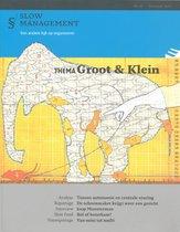 Boek cover Groot en klein van
