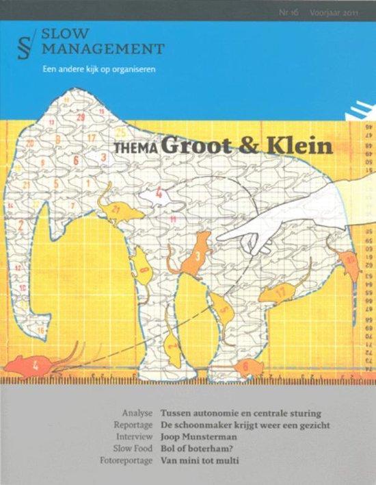 Boek cover Groot en klein van  (Paperback)