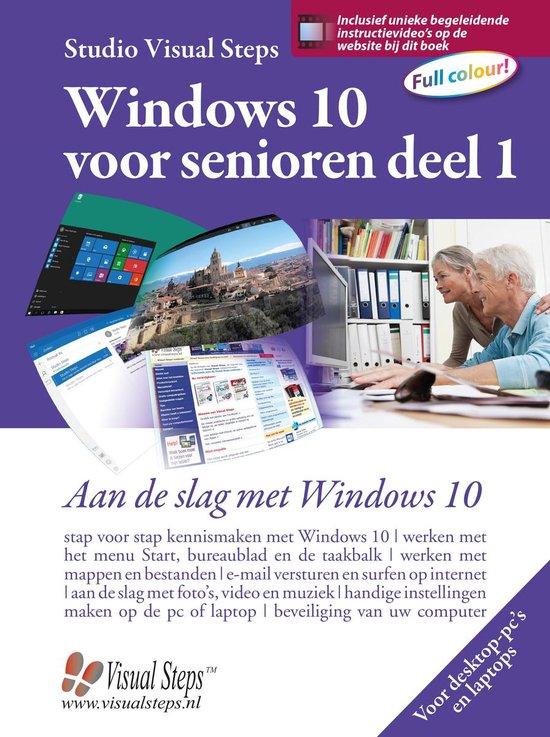 Windows 10 voor senioren deel 1 - Studio Visual Steps |