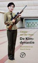 Boek cover De Kim-dynastie van Casper van der Veen