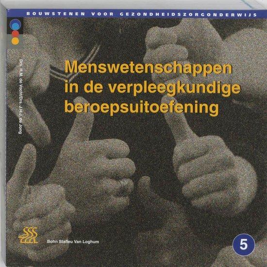 Bouwstenen gezondheidszorgonderwijs - Menswetenschappen in de verpleegkundige beroepsuitoefening - Hilde de Vocht pdf epub