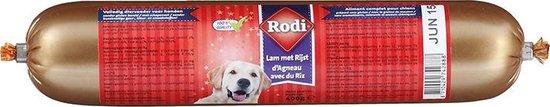 Rodi Worst Lam/Rijst - Vers Vlees - 5 x 400 g