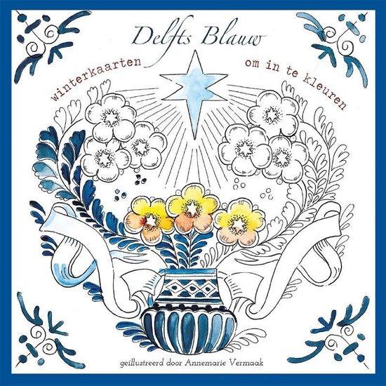 Winterkleurkaarten Delfts Blauw