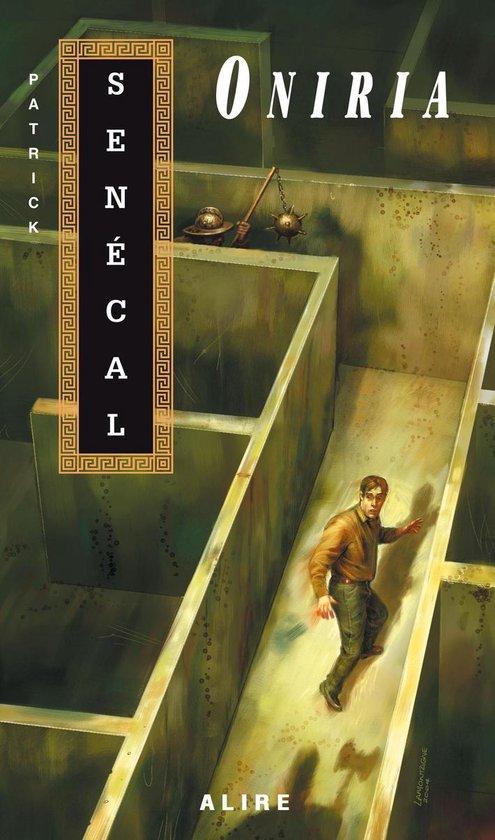 Boek cover Oniria van Patrick Senécal (Onbekend)