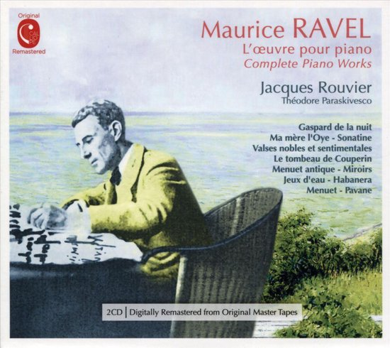 Maurice Ravel: L'Oeuvre pour Piano [31 Tracks]