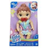 Hasbro Babypop Baby Alive Sweet Sounds Brunette 28 Cm