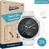 Garmin Fenix 6S / 6S Pro / 6S Sapphire 42mm screenprotector - Tempered Glass - Gehard glas - Just in Case