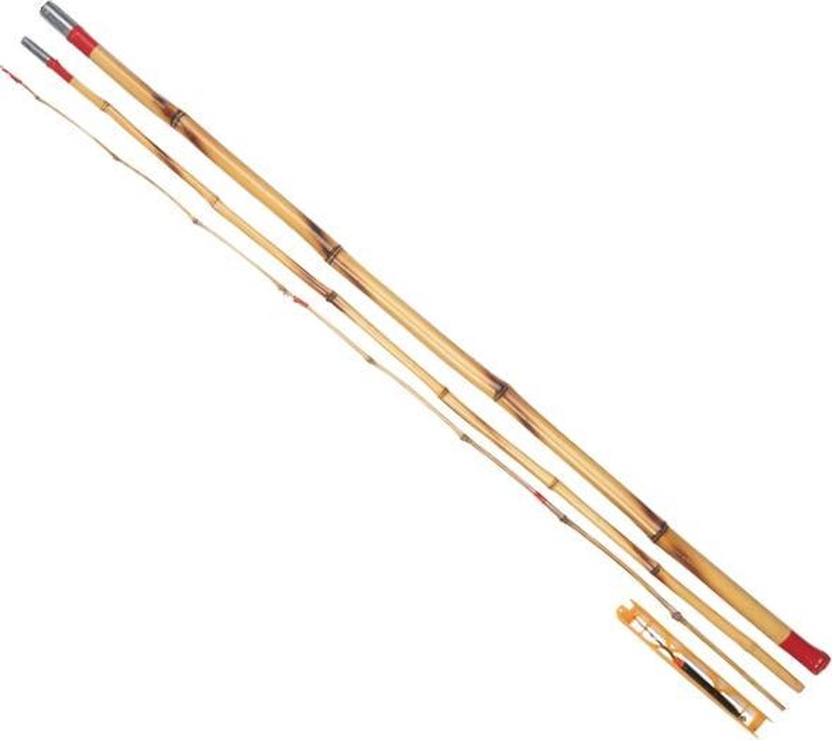 Albatros Bamboe Set - Vaste Hengel + Tuig - 3 meter