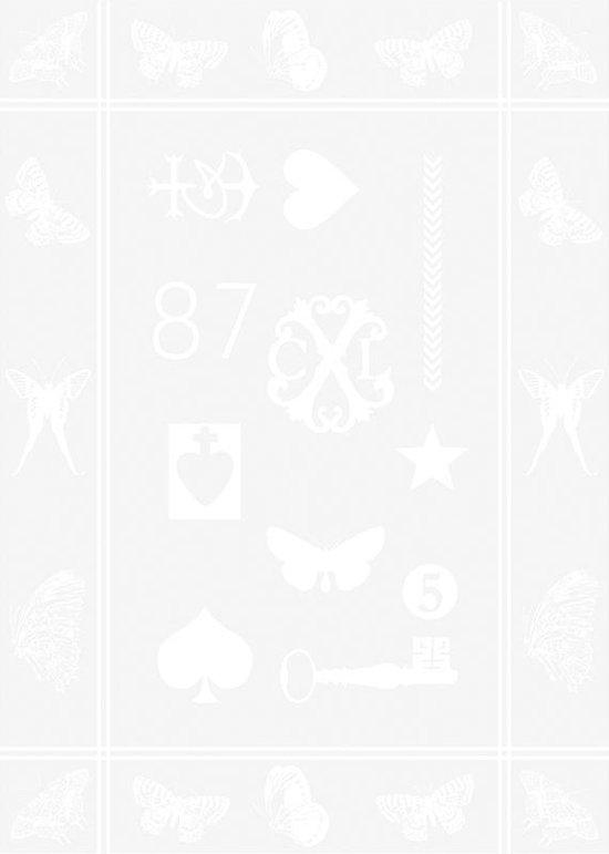 Christian Lacroix - SET 2 KEUKENHANDDOEKEN - AMULETTE - Wit - 50 x 70