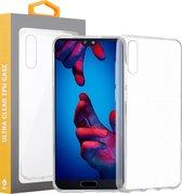 Huawei P20 2018 Transparant Silliconen TPU Hoesje Cover Case