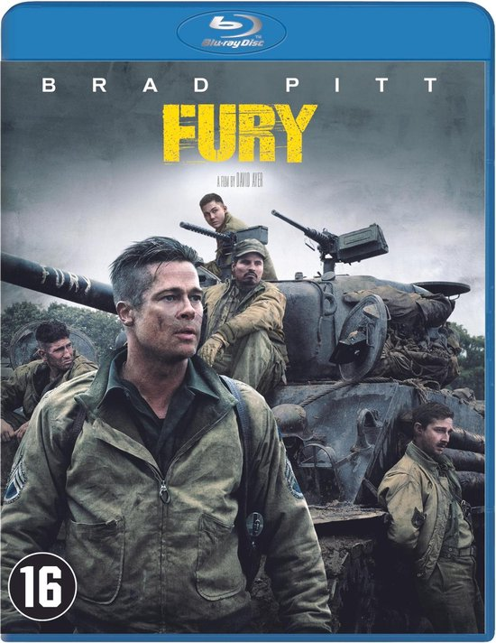 Fury (Blu-ray) - Movie