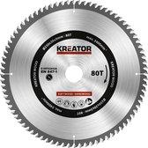 Kreator KRT020426  Zaagblad hout 250 mm -80T