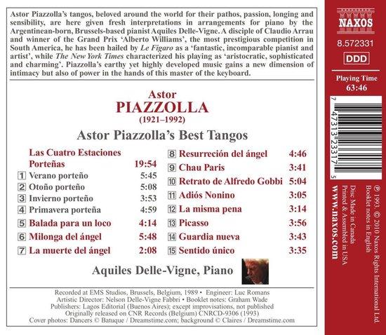 Piazzolla: Best Tangos
