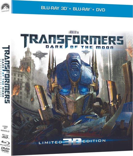 Cover van de film 'Transformers 3: Dark Of The Moon'