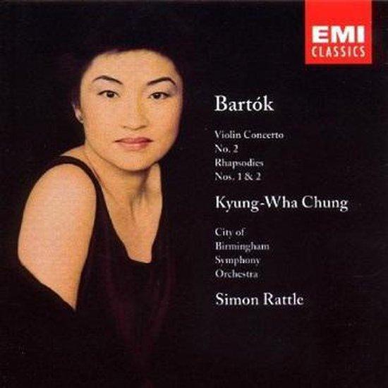 Béla Bartók: Violin Concerto No. 2; Rhapsodies Nos. 1 & 2