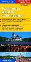 KUNTH Reisekarte Tschechische Republik 1 : 300 000