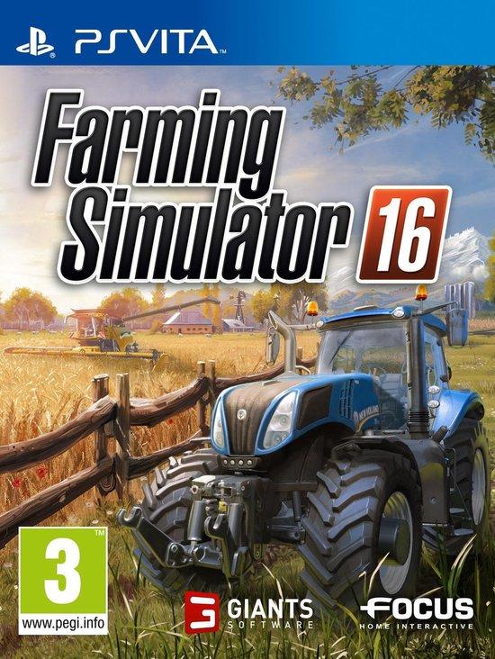 Farming Simulator 16  PS Vita