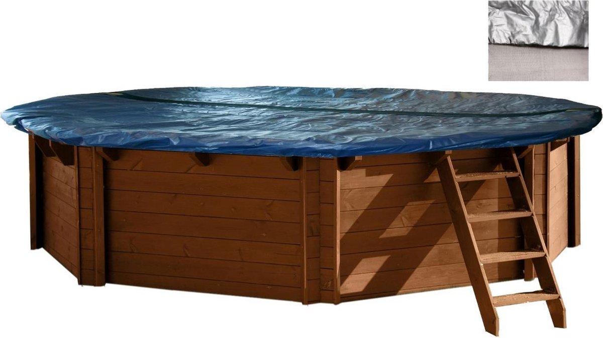 Interline Zwembad Interline winterafdekking voor houten zwembaden - 8,40 x 4,90 m ovaal