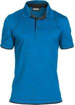 Dassy Profesional Workwear Polo - Orbital Azuurblauw/antracietgrijs - Mt Xl