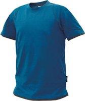 Dassy Profesional Workwear T-shirt - Kinetic Azuurblauw/antracietgrijs - Mt Xl