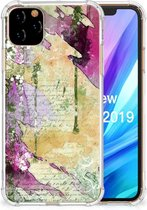 Back Cover iPhone 11 Pro Max Letter Painting