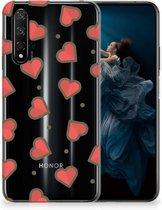 Honor 20 | Huawei Nova 5T TPU bumper Hearts