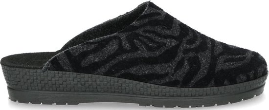 Rohde 2288 Pantoffel Zebra Anthracite