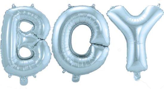 Geboorte Ballonnen Letter Set Boy 36cm