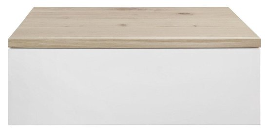 Eiken Badkamermeubel Harstad | 100x50x30 | 1 lade | Whitewash