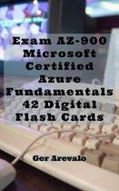 Exam AZ-900: Microsoft Certified Azure Fundamentals 42 Digital Flash Cards