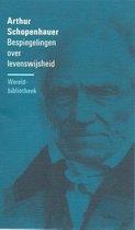Boek cover Filosofische reeks  -   Bespiegelingen over levenswijsheid van Arthur Schopenhauer