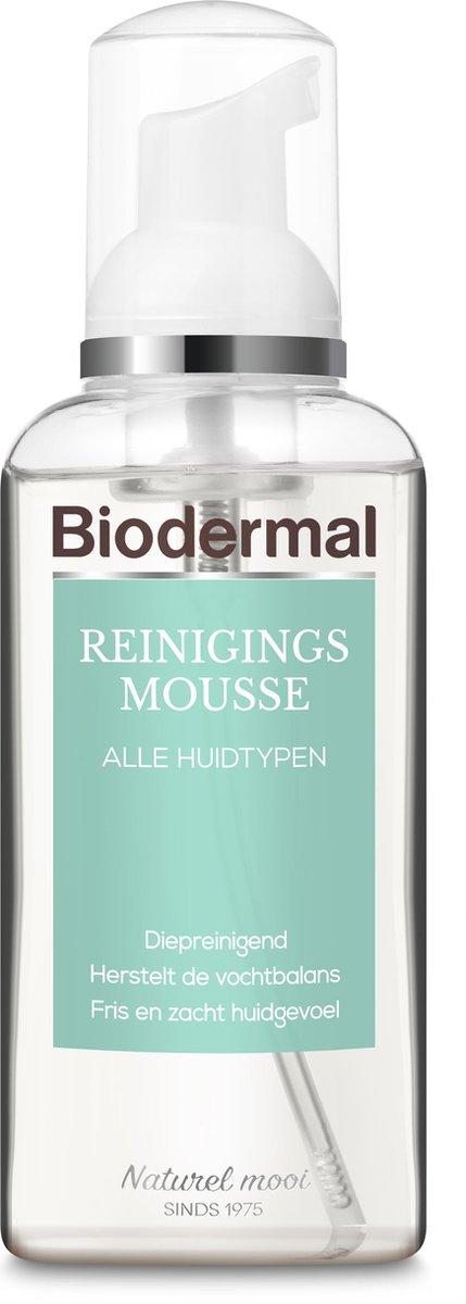 Biodermal Reinigingsmousse -  Gezichtsreiniging - Reinigt en hydrateert - 150 ml