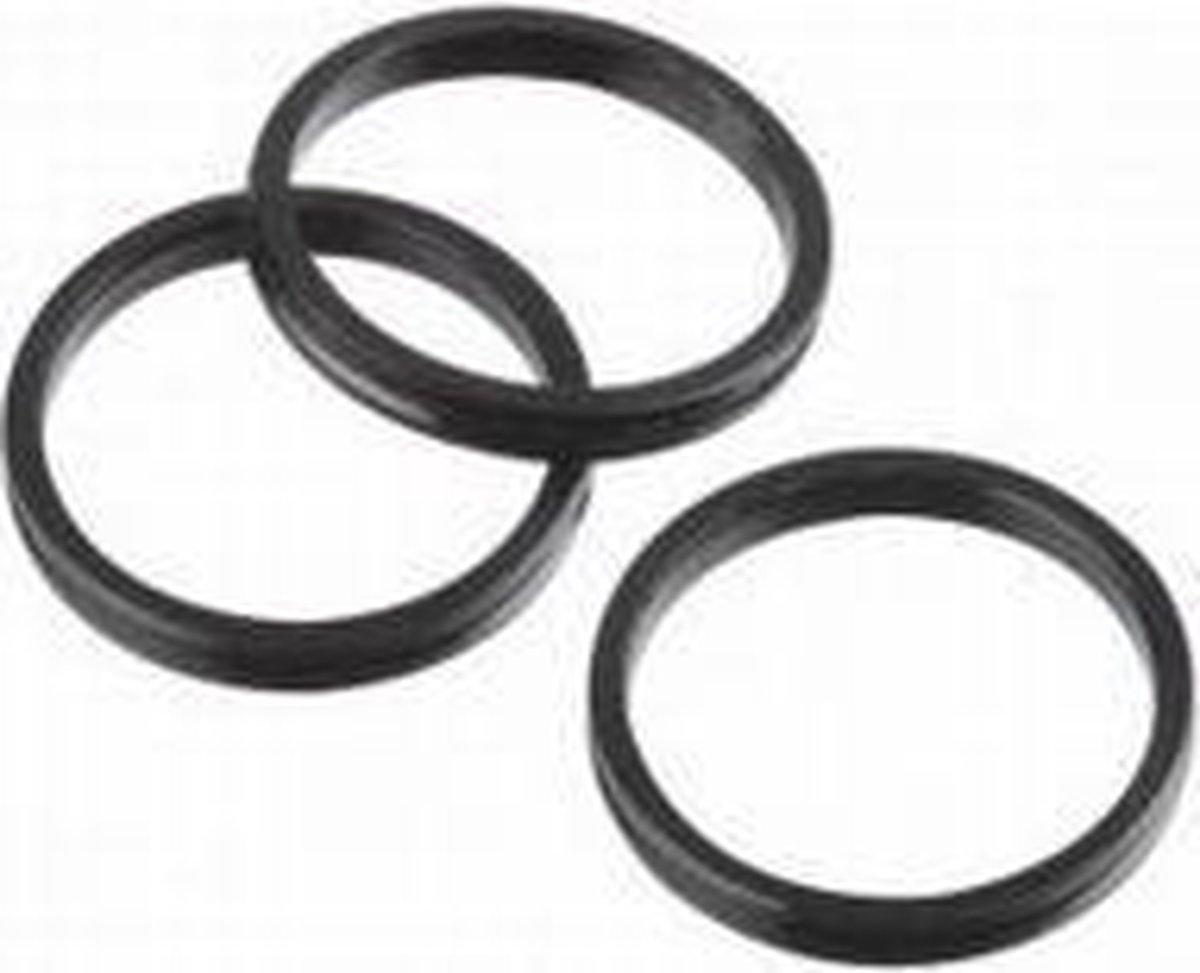 Target Aluminium Pro Grip Rings Zwart Set à 3 stuks