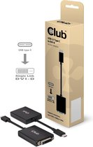 CLUB3D USB 3.1 Type C to DVI-D Active Adapter Cable